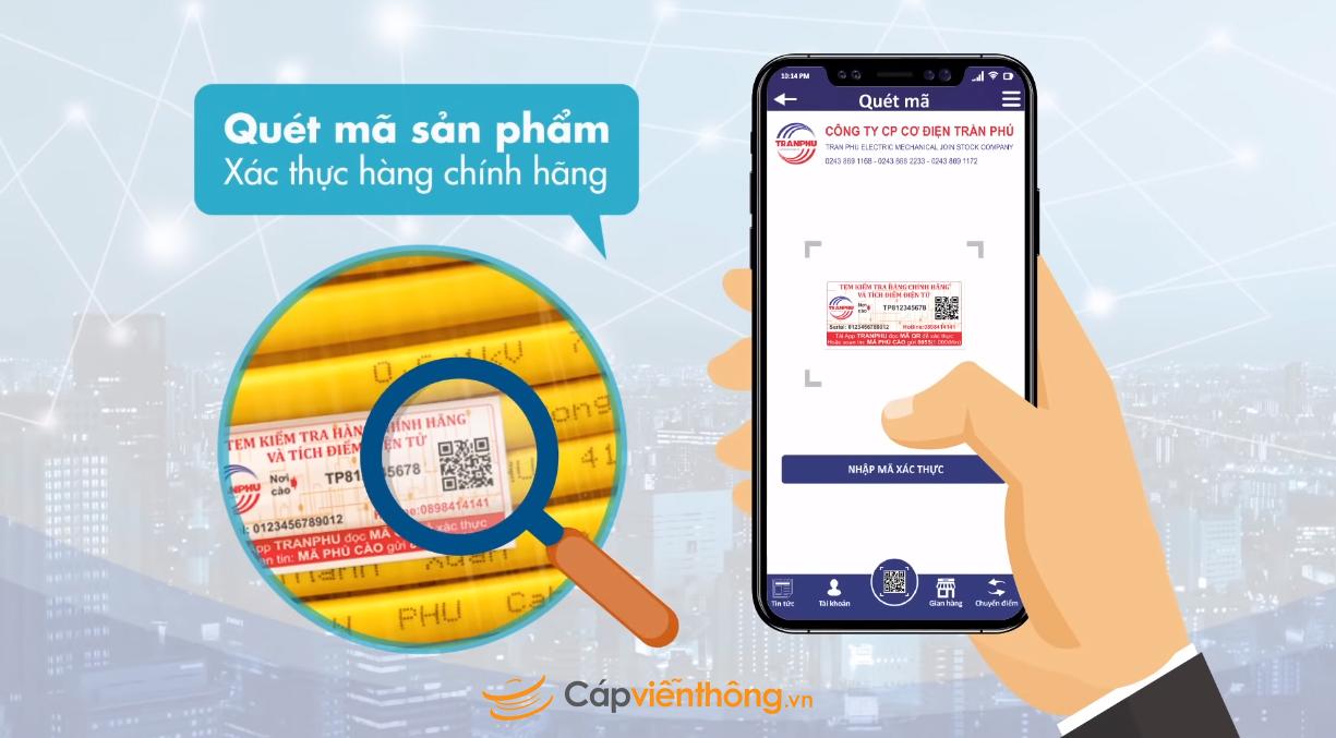 Cách nhận biết dây cáp điện Trần Phú chính hãng–Phân biệt hàng giả