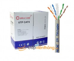Cáp mạng Cat6 UTP Plus Golden Link