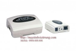 Single USB2.0 Port Fast Ethernet Print Server TL-PS110U