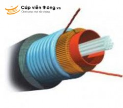 Cáp quang AMP ourdoor Multimode 50/125µm, Armored